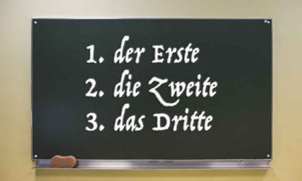 Ordinal Numbers in German – comprehensive list