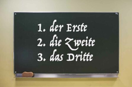 Ordinal Numbers in German – all you need to know