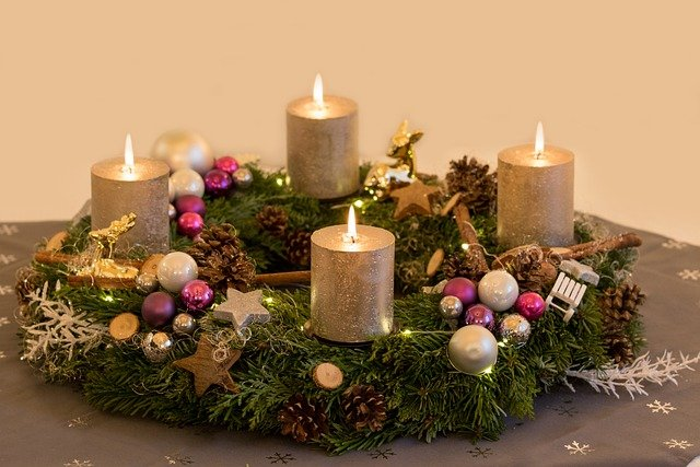 german advent wreath